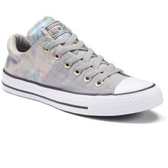 Women's Converse Chuck Taylor All Star Madison Sneakers ($60) ❤ liked on Polyvore featuring shoes, sneakers, dolphin, converse shoes, converse sneakers, lacy shoes, print shoes and star sneakers