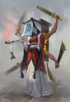 ArtStation - Chinese Magician, Tim Löchner