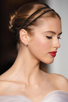 Amp up your sleek, stylish chignon with a multi-band.