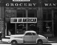 placed in the window of a store, at 13th and Franklin streets, on December 8, the day after Pearl Harbor, is pictured in Oakland, California in March 1942. Photo by Dorothea Lange/Farm Security Administration and Office of War Information Collection/Library of Congress/Reuters