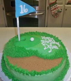 Golf Cake - Chris's Birthday?