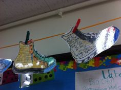 'Those Shoes' lesson on empathy. (modify writing lesson and have students write about a time they showed empathy for someone)