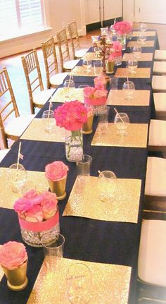 Dairing Events: Preppy Glam {A Dairing Sweet 16} | Jacksonville Event Planner