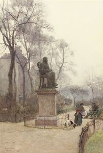 Rose Maynard Barton - The Carlyle Statue, Chelsea