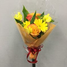 誕生日用の花束を作成しました 4439914