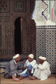 Fez.Qarawiyyin Mosque 1987
