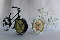Ferforje Bisiklet Masa Saati - KLC import