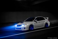 subaru-impreza-wrx-sti-white-blue   Rides & Styling