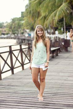Summertimes.. beach outfit!