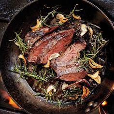 Garlic-Rosemary Steak Recipe