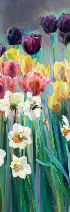 Masterpiece Art - Grape Tulips Panel I, $36.00 (http://www.masterpieceart.com.au/grape-tulips-panel-i/)