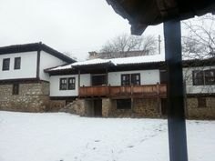 The house of the famous Bulgarian writer Elin Pelin in Baylovo village.