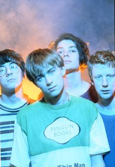 Find images and videos about blur, damon albarn and graham coxon on We Heart It - the app to get lost in what you love. Damon Albarn, Music Film, Music Icon, My Music, Brian Molko, Gorillaz, Lps, Blur Band, Oasis Music