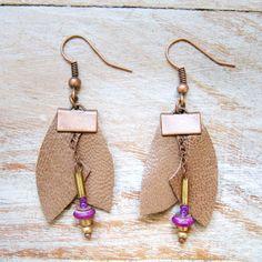 Netza Design / Bijoux en cuir / Leather jewelry