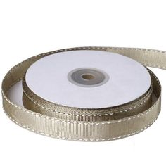 """25 Yards 5/8"""" DIY Willow Stitched Grosgrain Ribbon Wedding Party Dress Favor Gift Craft Decoration / Grosgrain ribbon is one of the most preferred and demanded ribbons for decorations, embellishments, crafting, and accenting purposes. Premium quality nylon, cotton, and synthetic fabric materials are used to craft this plain weave corded fabric with a textured appearance and a sturdy look. Now, with added elegance and neatness of a smart stitch accent, this famous ribbon is further spruced up. It Organza Ribbon, Grosgrain Ribbon, Ribbon Decorations, Fabric Material, Craft Gifts, Decor Crafts, Wedding Ribbons, Stitch, Gray"""