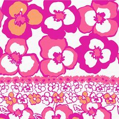 Lilly Pulitzer Pansy Dance... perfect for theta!!