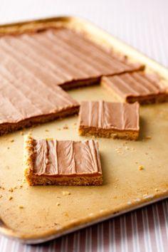 Peanut Butter Bars (School lunch ones)