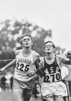 """You have to wonder at times what you're doing out there. Over the years, I've given myself a thousand reasons to keep running, but it always comes back to where it started. It comes down to self-satisfaction and a sense of achievement.""     Steve Prefontaine"