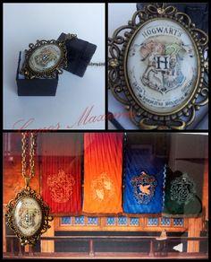 #HarryPotter #Hogwarts #Corvonero #Serpeverde #Grifondoro #Tassorosso #Collana