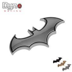 Adesivi per auto In Metallo Cool 3D In Metallo Logo BAT BATMAN Distintivo Emblema di Coda Accessori Decal Per Auto
