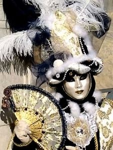 Carnivale masks  Veneza Italy http://renukap.wordpress.com/2010/10/24/who-is-that/