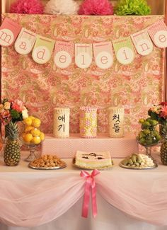 For Baby's First Dol Party! Adorable