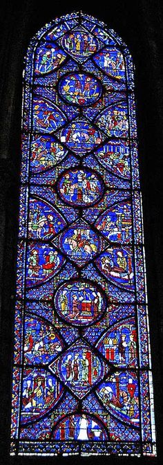 Chartres Cathedral- #gothicarchitecture