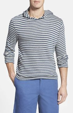 Faherty+'Ipanema'+Regular+Fit+Stripe+Hoodie+Sweater+available+at+#Nordstrom