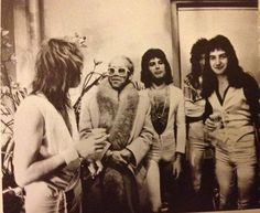 Early Queen with Elton John