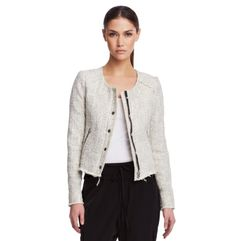 Amber Tweed Jacket - Kenneth Cole