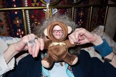 Friend of Kanon Terry Richardson has the coolest mom ever.