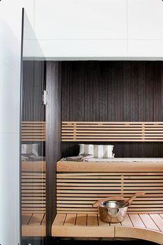 sauna / no home without you. - Home FTH - Home Decor Ideas Helsinki, Sauna Steam Room, Sauna Room, Spa Day At Home, Home Spa, Diy Spa, Sauna Design, Finnish Sauna, At Home Spa