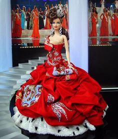 Мисс Англия 2013/14 по Ninimomo Dolls