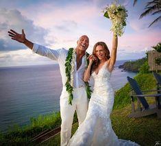 "Dwayne ""The Rock"" Johnson and Lauren Hashian Have Secret Wedding In Hawaii. ""The Rock"" and long term girlfriend, Lauren Hashian tied the knot after years of dat Rock Johnson, The Rock Dwayne Johnson, Dwayne Johnson Lauren Hashian, Dwayne Johnson Family, Dwyane Johnson, Lauren Johnson, Dwayne The Rock, Michael Ealy, Wedding Weekend"