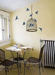 Decorazioni per pareti: stencil e pittura (Foto 4/40)   Design Mag