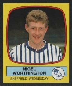 Sheffield Wednesday - Nigel Worthington 1988