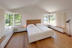 Schlafraum : Moderne Schlafzimmer von Möhring Architekten