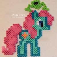 Doodle Craft...: My Little Pony Perler Bead Art!