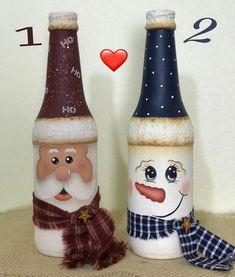Olá  ameiiiiii saber que vocês gostam das mesmas coisas que eu! Mais lindezas do meu Natal fiquem a vontade para dizer qual das duas vocês preferem a 1 ou a 2 ? Beijinhos no Tania #natal #decoration #madeira