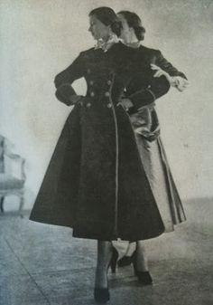 Antonio Castillo for Elizabeth Arden, 1947.   Couture Allure Vintage Fashion