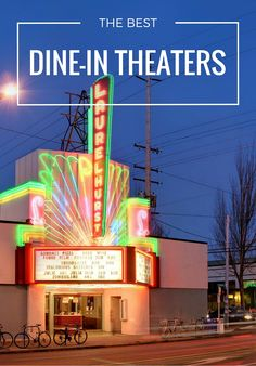 No time for pre-show dinner? No problem. Support the arthouse/blockbuster/cult classic cinemas championing your right to grab food and a flick all under one dimly-lit roof.
