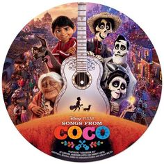 Original Soundtrack (Songs) from the movie Coco (2017) - Songs From Coco. Music composed by Various Artists. Songs From #Coco #Soundtrack #VINYL on April 20 - Walt Disney Records   #tracklist #ost #animation