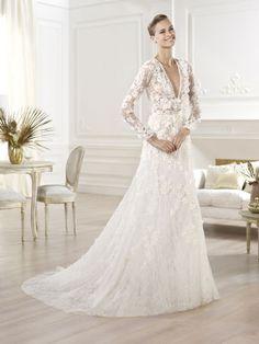 Les plus belles robes de mariée de la Bridal Fashion Week automne-hiver 2013-2014 Pronovias x Elie Saab