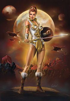 Artist: Eamon O'Donoghue - Masters of the Universe - Teela - http://eamonodonoghue.deviantart.com/ - https://www.behance.net/eamonart - http://www.eamonart.com/ - #eamonodonoghue