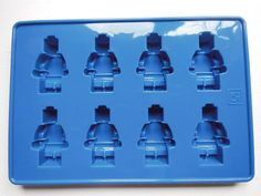 Lego man minifigure silicone jelly chocolate ice by TheRomanBazaar
