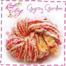 Sprookjes wol! Knit Collage Gypsy Garden