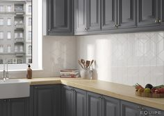 Rhombus Diamond Tile Backsplash Tile