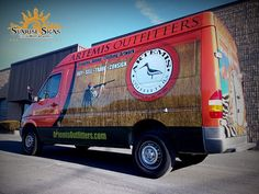 Check out this nice commercial wrap from Sunrise Signs. http://www.sunrisesigns.com/  Materials used: Avery MPI 1005 & DOL 1360