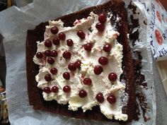 Diabetic Living Black Forest Cake Roll