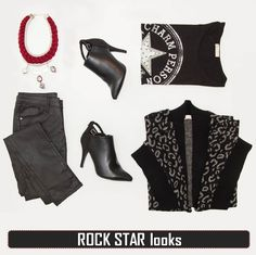 Oh so Welcome your newest obsessions online! Leopard Cardigan, Mood Boards, Rock, Knitting, Fitness, Collection, Style, Fashion, Swag
